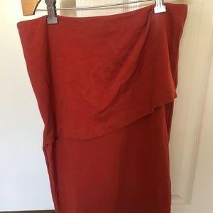 CAbi Size 4 Asymmetrical Pencil skirt